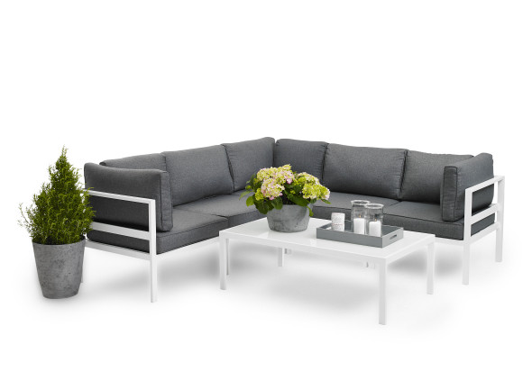 Brafab Leone Outdoor Loungemöbel Aluminium, Ambiente