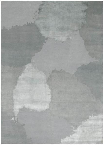 Linie Design Monu abstrakter Teppich