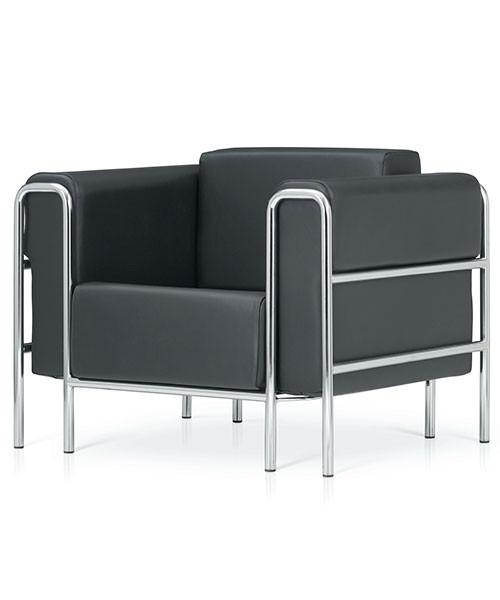 Bauhaus Leder Sessel Arcetto